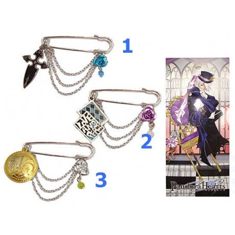 Pandora Hearts Pin Nº3