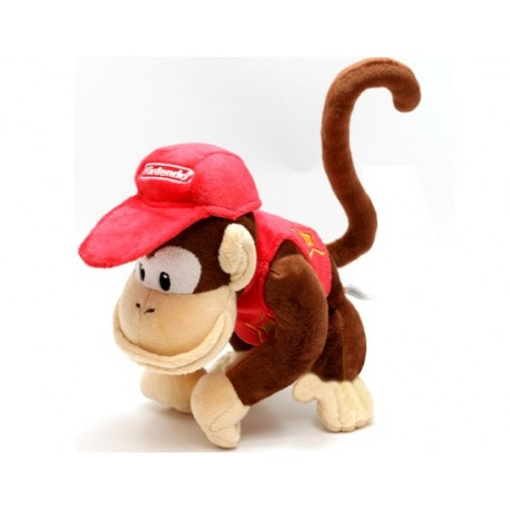 Peluche Diddy Kong 18cm
