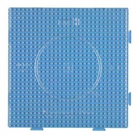 Placa / Pegboard 15x15 cms transparente conectable para midi