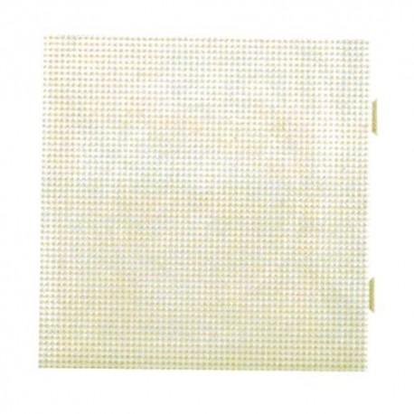 Placa / Pegboard de 15x15 centímetros conectable para Hama mini
