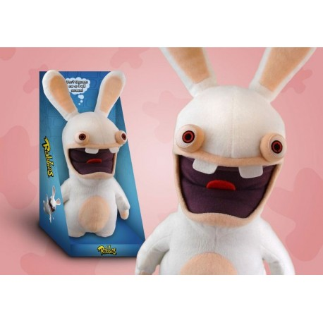 Rayman Raving Rabbids Peluche con sonido Scream Bunny 37 cm