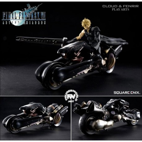 Set figuras Cloud Strife y Fenrir - Final Fantasy VII Advent Chi