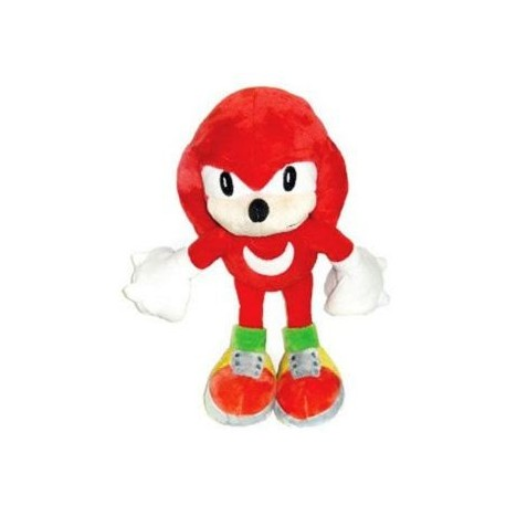 SONIC - Peluche soft Knuckles Sonic T3 34cm