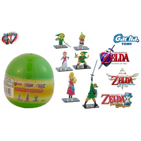 The Legend of Zelda  Gacha Buildable  Figures