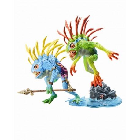World of Warcraft Serie 4 Pack de 2 Figuras de acción Murloc: Fi