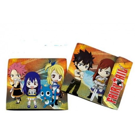 Billetera Chibi Fairy Tail