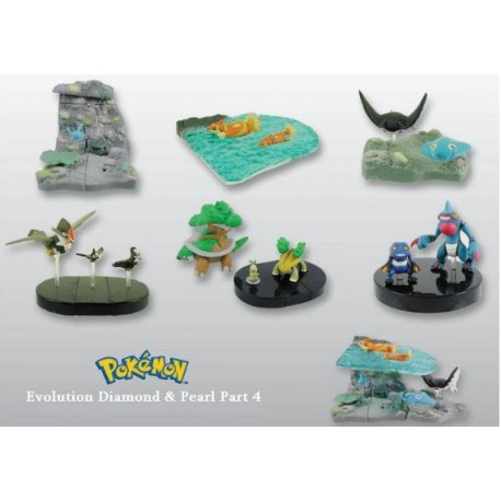 Cápsula figura Pokémon Diamond and Pearl 4 Gacha