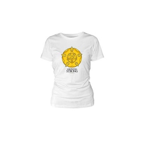 (NEX) TYRELL CAMISETA BLANCA CHICA T-M GAME OF THRONES