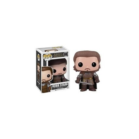 ROB STARK FIGURA 10 CM VINYL POP GAME OF THRONES