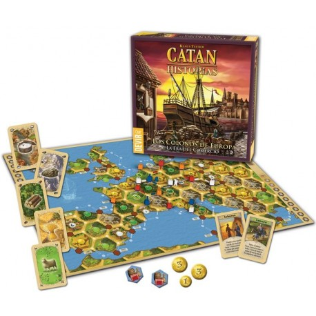 CATAN - COLONOS DE EUROPA
