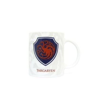 (NEX) ESCUDO TARGARYEN TAZA CERAMICA GAME OF THRONES