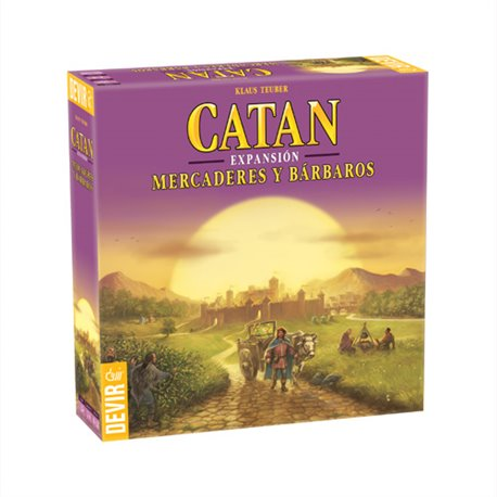Catan - Mercaderes y Barbaros Exp.