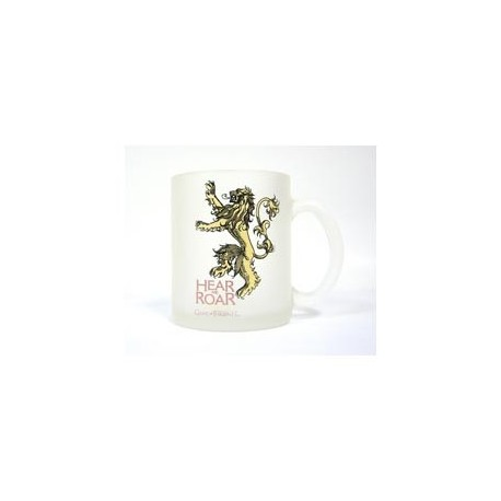 LANNISTER TAZA VIDRIO TRANSLUCIDA GAME OF THRONES