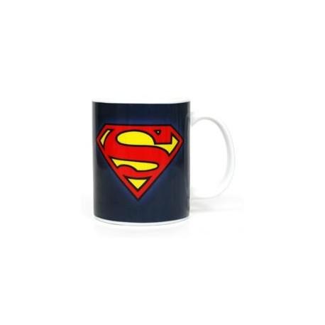 LOGO SUPERMAN DC TAZA CERAMICA DC COMICS