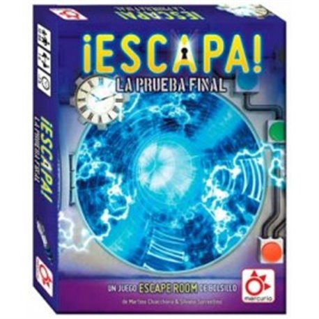 ¡Escapa! La Prueba Final (Scape Room)