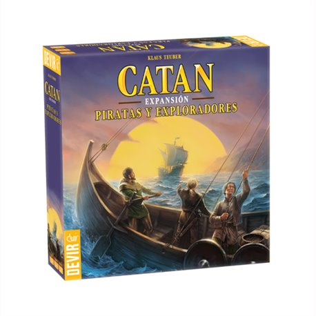Catan exp. Piratas y Exploradores