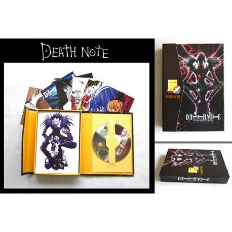 DEATH NOTE - PACK DVD + POSTALES