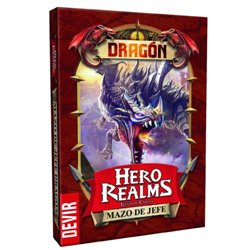 Hero Realms Mazo de Jefe Dragón