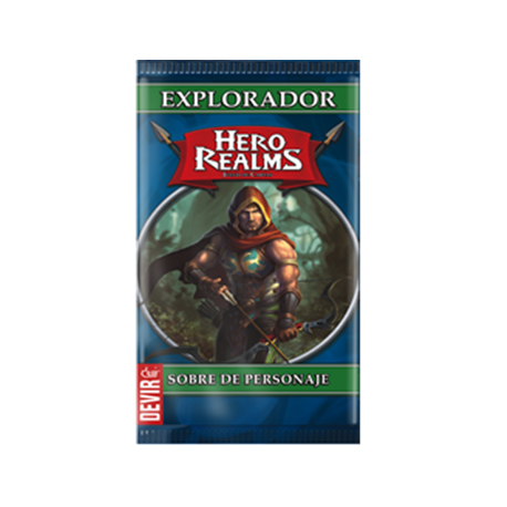Hero Realms Sobre de Personaje Explorador