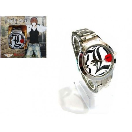 Death Note - Reloj Esfera Transparente