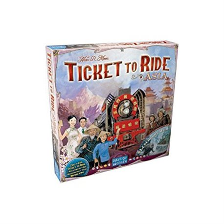 Ticket to Ride exp. Asia