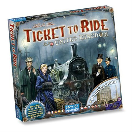 Ticket to Ride exp. United Kingdom