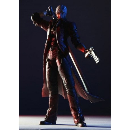Devil May Cry 4 Play Arts Kai Figura Dante 27 cm