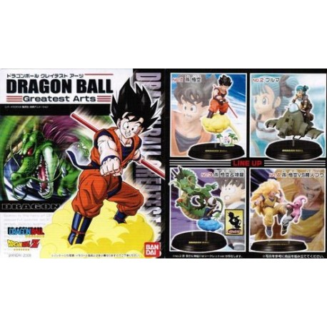 DISPLAY TF DRAGON BALL GREATEST ARTS VOL.2 UNIDAD