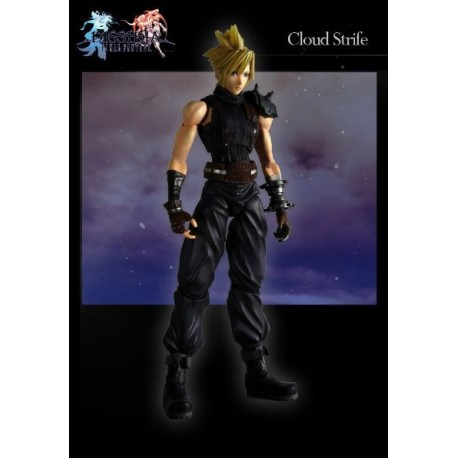 Dissidia Final Fantasy Play Arts Kai Vol. 1 Figura Cloud Strife