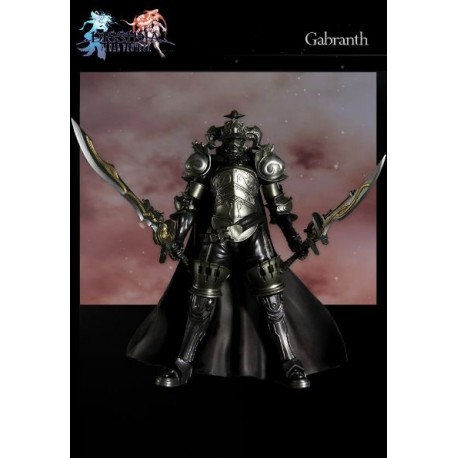 Dissidia Final Fantasy Play Arts Kai Vol. 1 Figura Gabranth 25 c