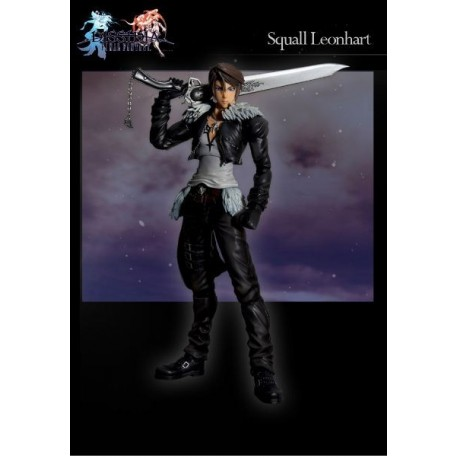 Dissidia Final Fantasy Play Arts Kai Vol. 1 Figura Squall Leonha
