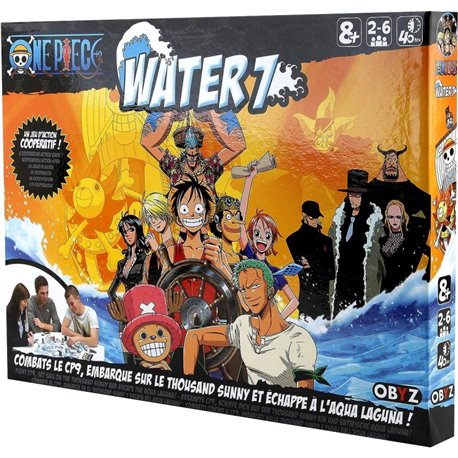 ONE PIECE WATER 7 - EL JUEGO DE MESA