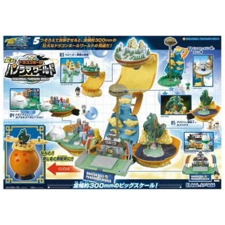 Dragon Ball Z Panorama World Figure