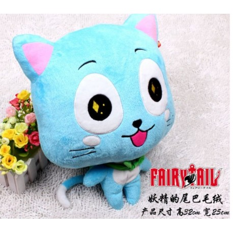 FairyTail - Peluche Happy 25cm