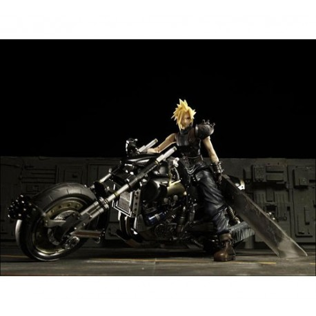 Final Fantasy - Figuras Cloud Strife y Hardy Daytona FF VII