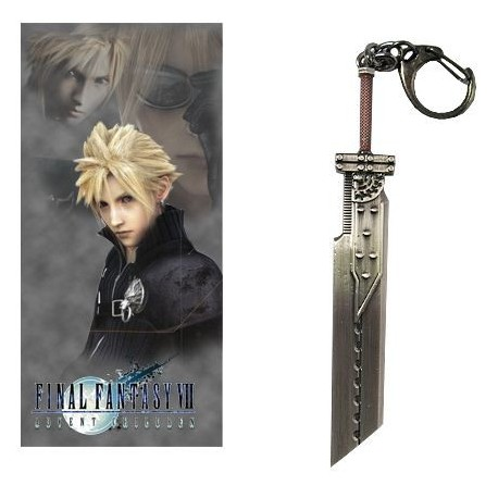 FINAL FANTASY - LLAVERO ESPADA CLOUD