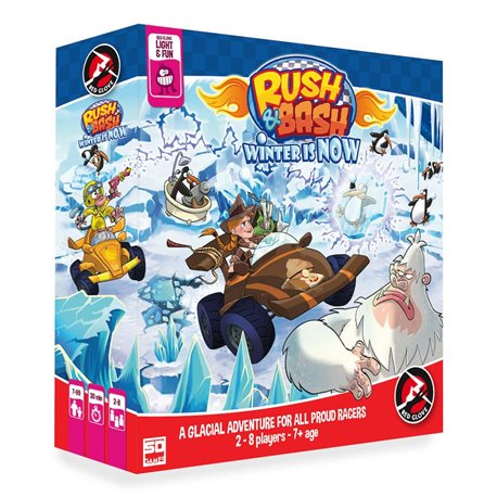RUSH & BASH. WINTER IS NOW