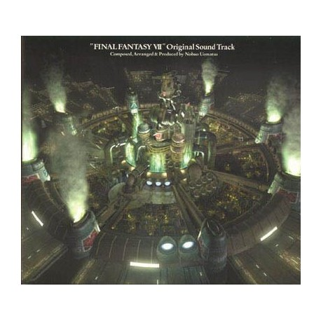 Final Fantasy VII CD música Original Soundtrack (4 CDs)