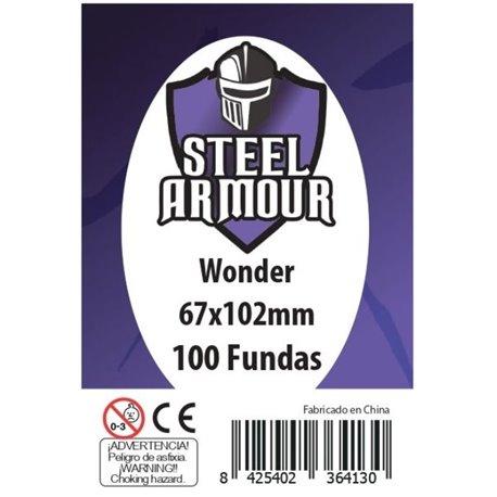 100 FUNDAS TAMAÑO WONDER (67X102MM)