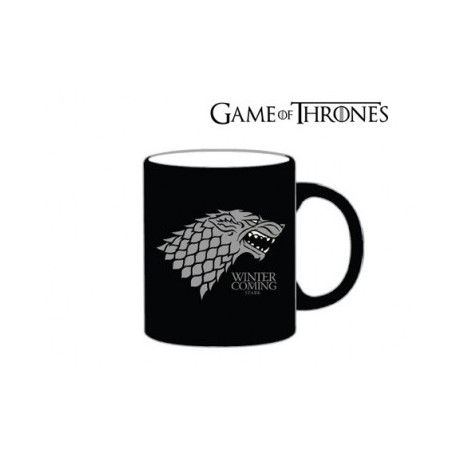 Game of Thrones - Taza Stark Negra