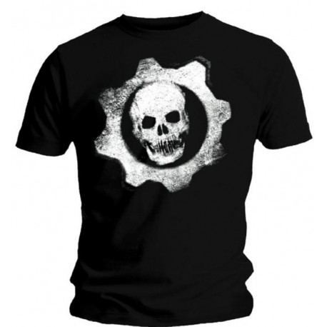 Gears Of War 3 Camiseta Dripping Wheel XL