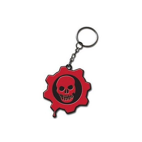 Gears of War llavero PVC Crimson Omen