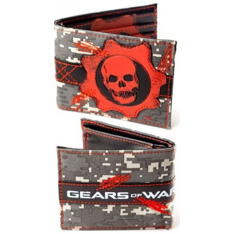 Gears of War Monedero Fullprinted