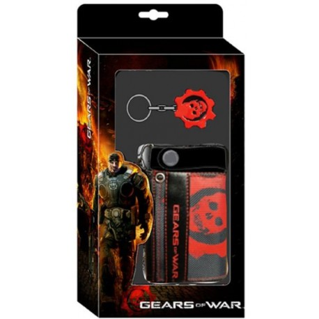 Gears of War Pack Combo Monedero y Llavero