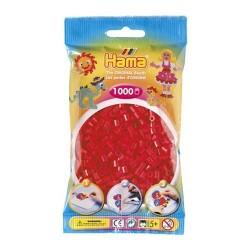 Hama midi rojo 1000 piezas