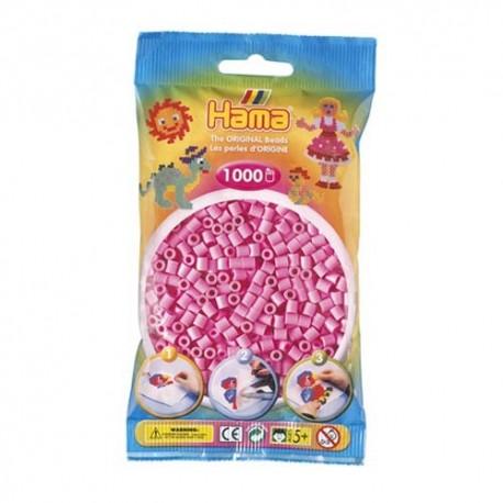 Hama midi rosa pastel 1000 piezas