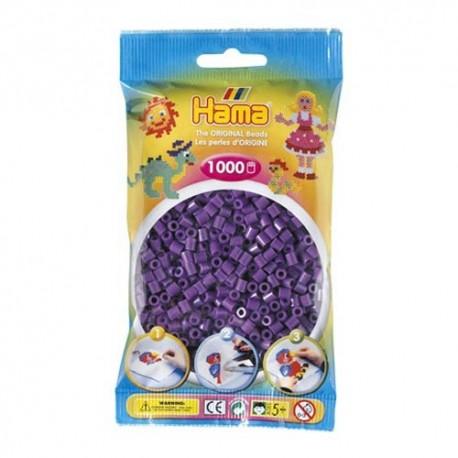 Hama midi violeta 1000 piezas