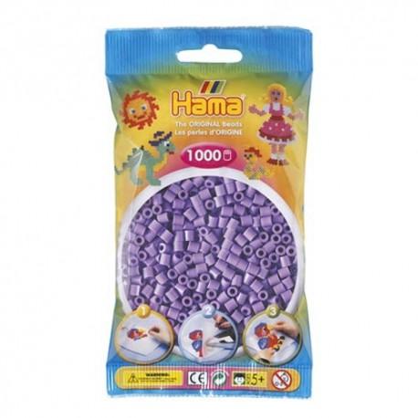 Hama midi violeta pastel 1000 piezas