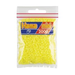 Hama Mini amarillo pastel