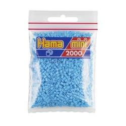 Hama Mini azul pastel